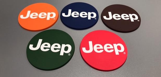 Jeep NEW コースター 5枚セット