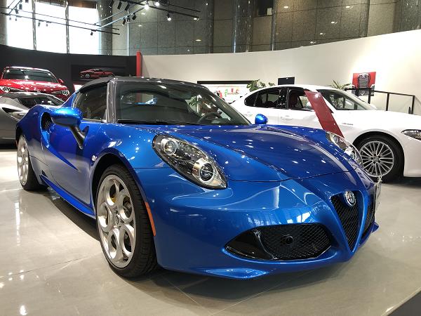 4C Spider Italia