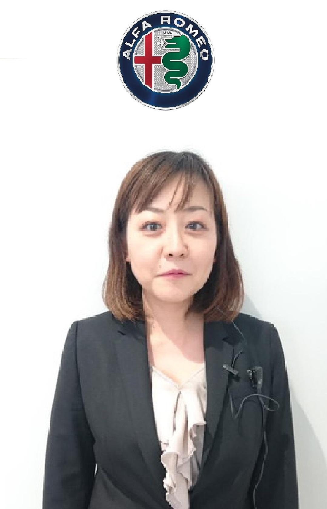 ショールームアシスタント 富永 亜貴子