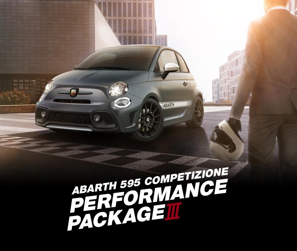 限定車『595 Competizione Performance Package Ⅲ』登場!