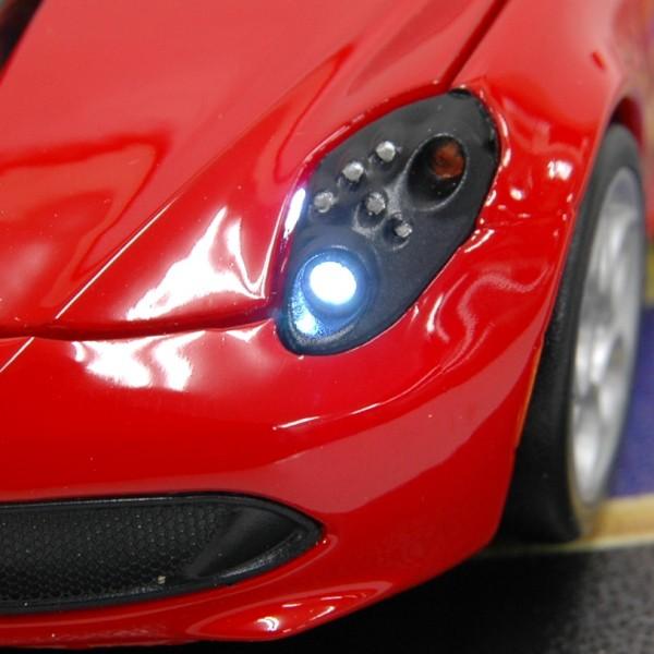 Alfa Romeo 4C ワイヤレスマウス(レッド)